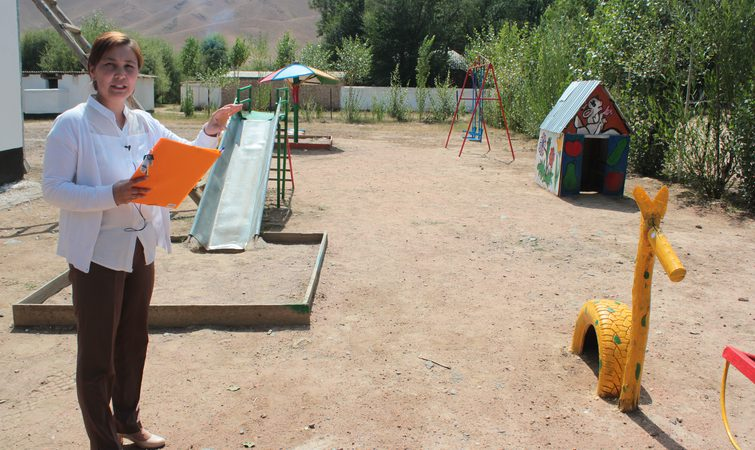 IMPROVE THE CONDITIONS OF CHILDREN IN THE KINDERGARTEN, NARYN AREA